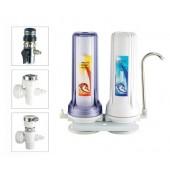Настольный двухступенчатый фильтр для воды AquaWater