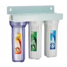 Трёхступенчатая система очистки воды AquaWater