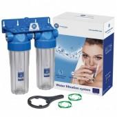 Корпус к фильтру для воды Aquafilter FHPRCL3/4-B-TWIN