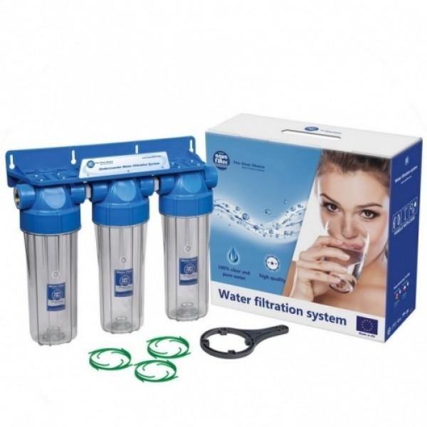 Корпус к фильтру для воды Aquafilter FHPRCL3/4-B-TRIPLE